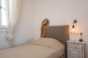 Bedrooms, Aerides Villas Naxos island sea view vacation homes
