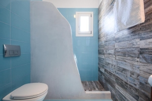 Bathrooms, Aerides Villas Naxos island sea view vacation homes