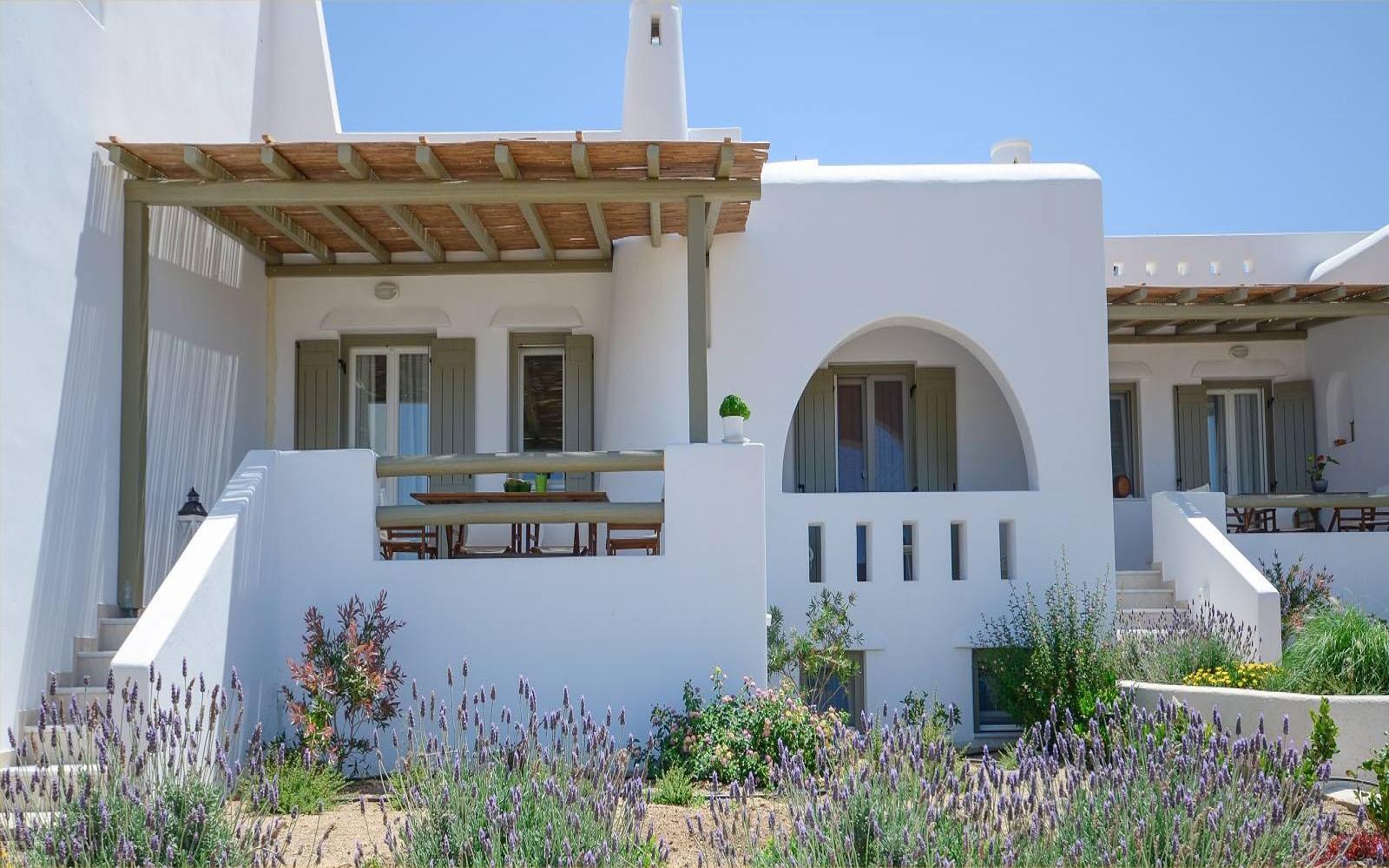 Bathrooms, Aerides Villas Naxos island sea view vacation homes